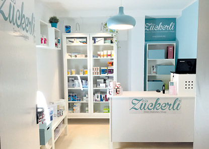 Zückerli - Dein Diabetes Spezialist - Shops